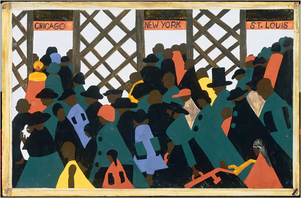 Art work: Jacob Lawrence